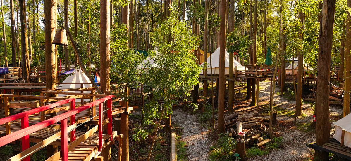 おかあさんといっしょ「ほしのひとしずく」のロケ地の「Camping GREEN|千葉県グランピング場」