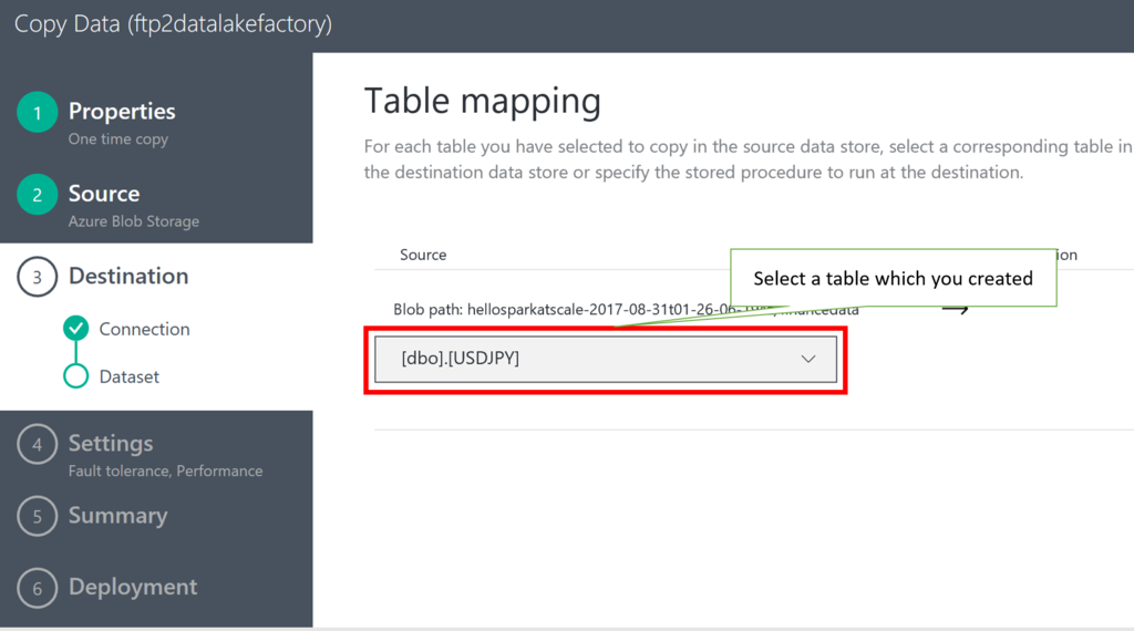 How to copy comma separated CSV files into Azure SQL