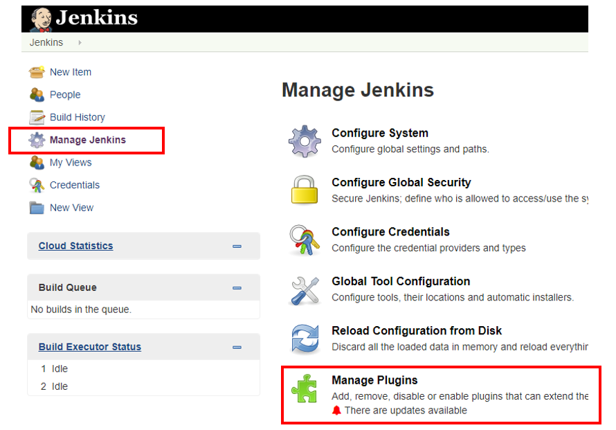 Embed Jenkins portal into Visual Studio Team Services