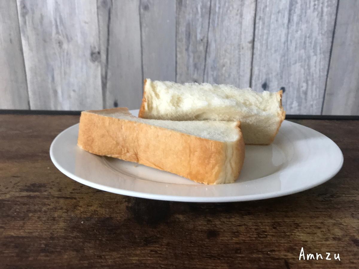 金の食パン 断面