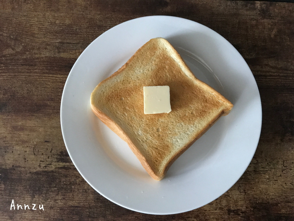 金の食パン トースト