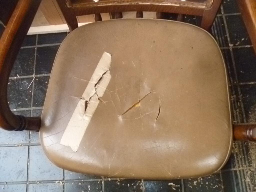 25年使った椅子まだまだ使えます!DIY椅子リフォーム。リフォームの源さん