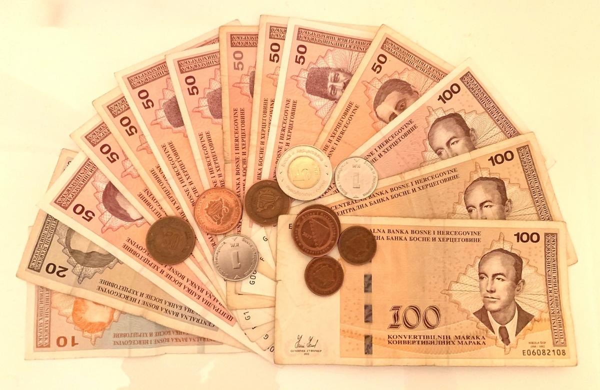 ボスニア・ヘルツェゴビナで使用されている通貨