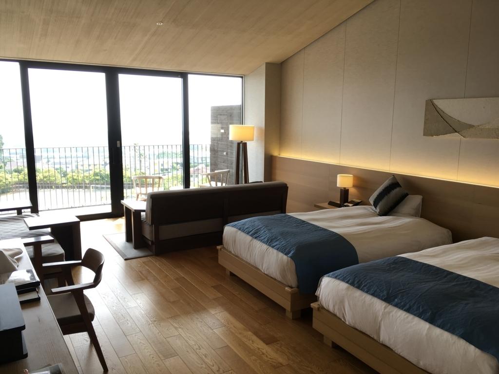 トスラブ 館山ルアーナの客室 ベッド1