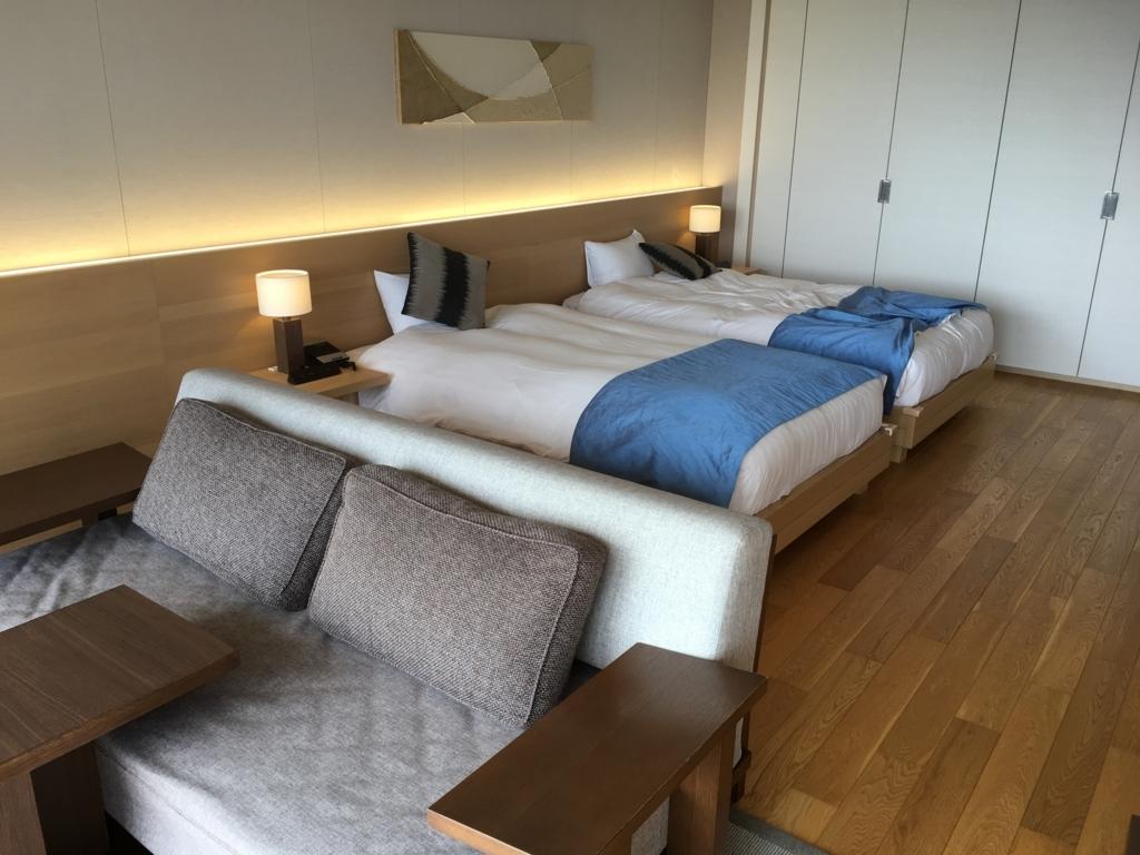 トスラブ 館山ルアーナの客室 ベッド2