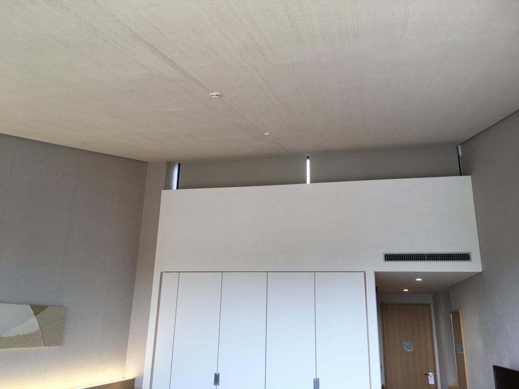トスラブ 館山ルアーナの客室 天井