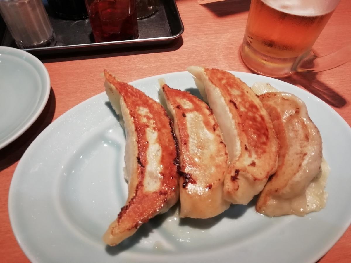 中華園さんの餃子