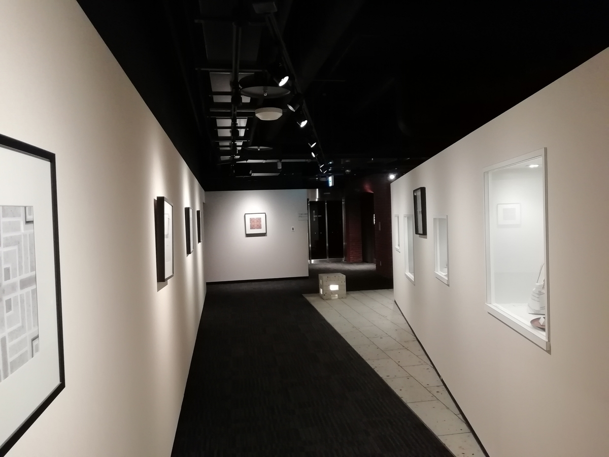 ホテルメッツの内廊下