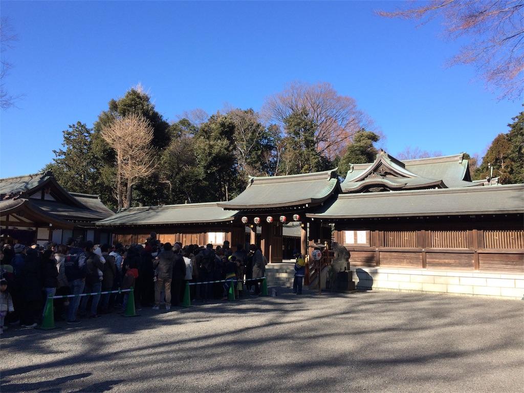 井草八幡宮の混雑状況・待ち時間の列