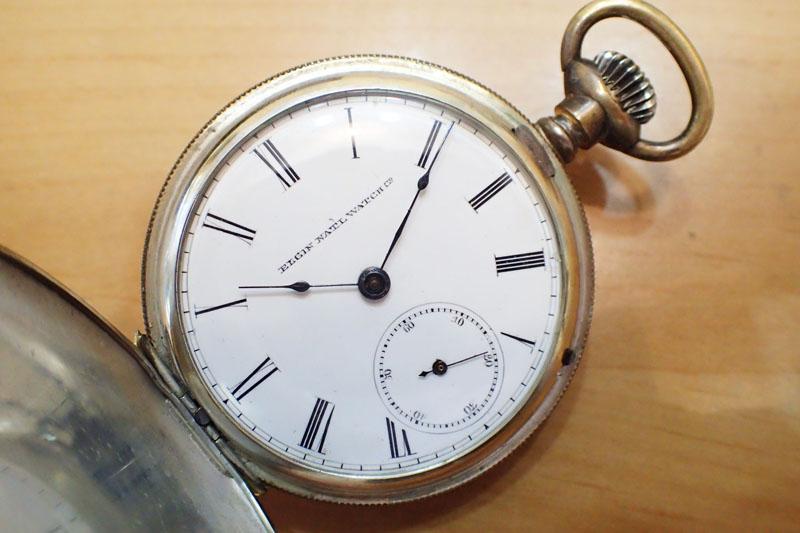 エルジンの懐中時計