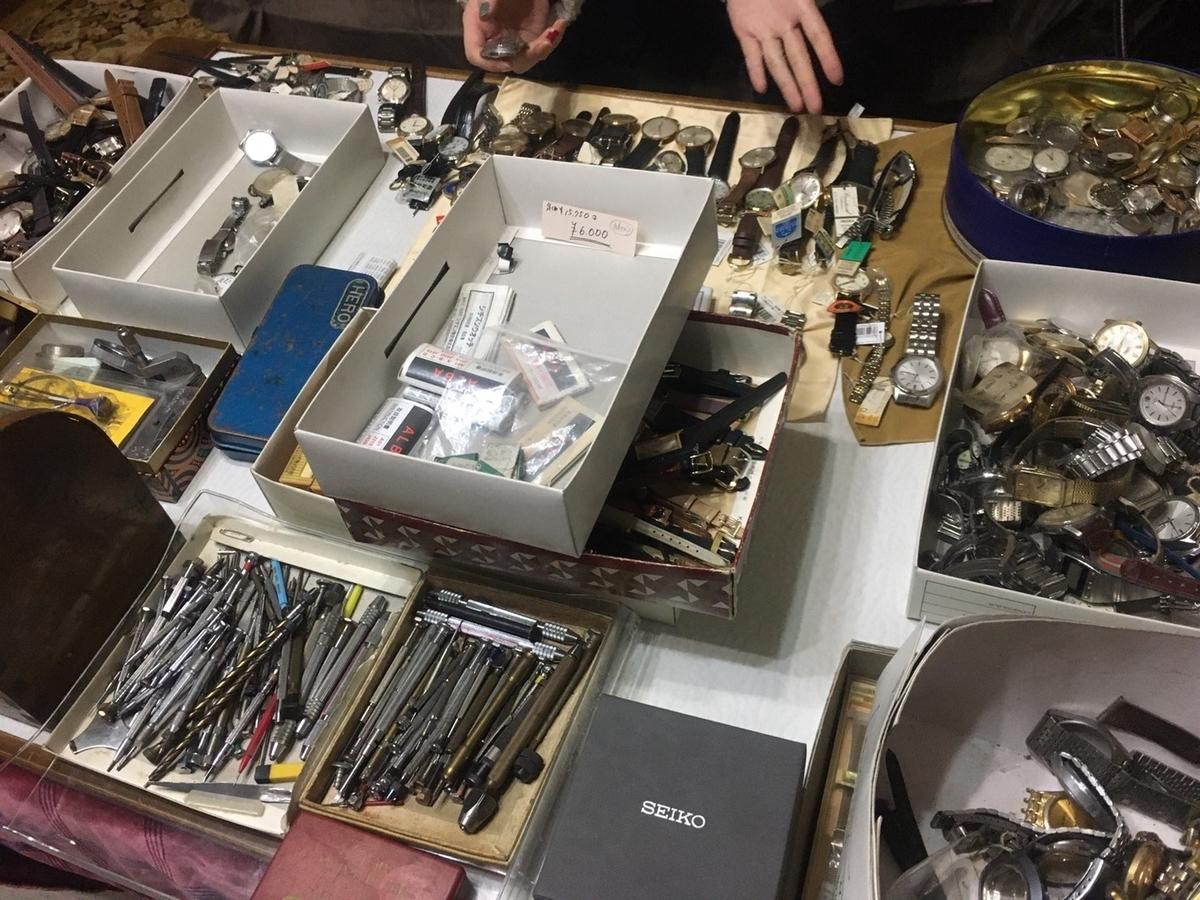 時計の在庫の買取