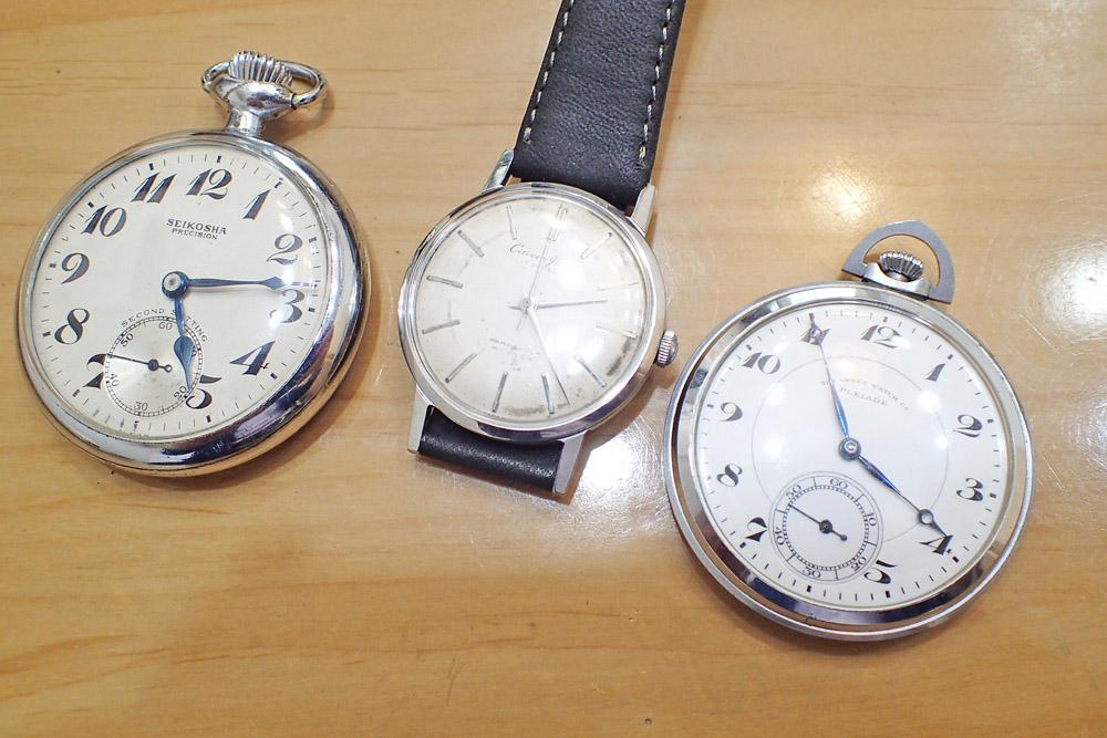 アンティーク時計の買取
