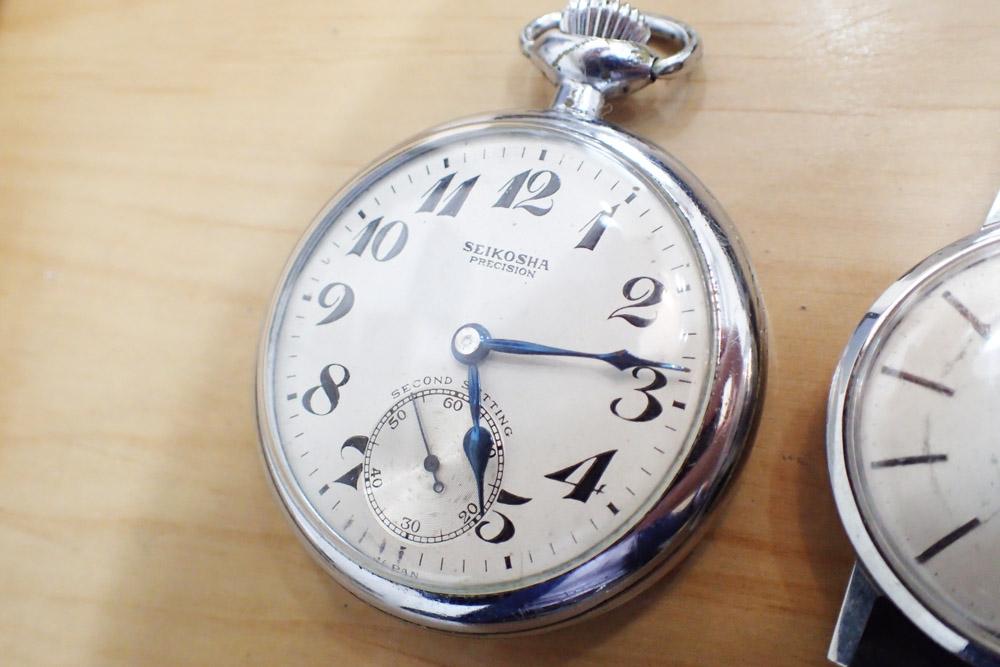 精工舎の鉄道時計