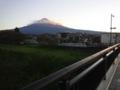 [富士山] 台風一過