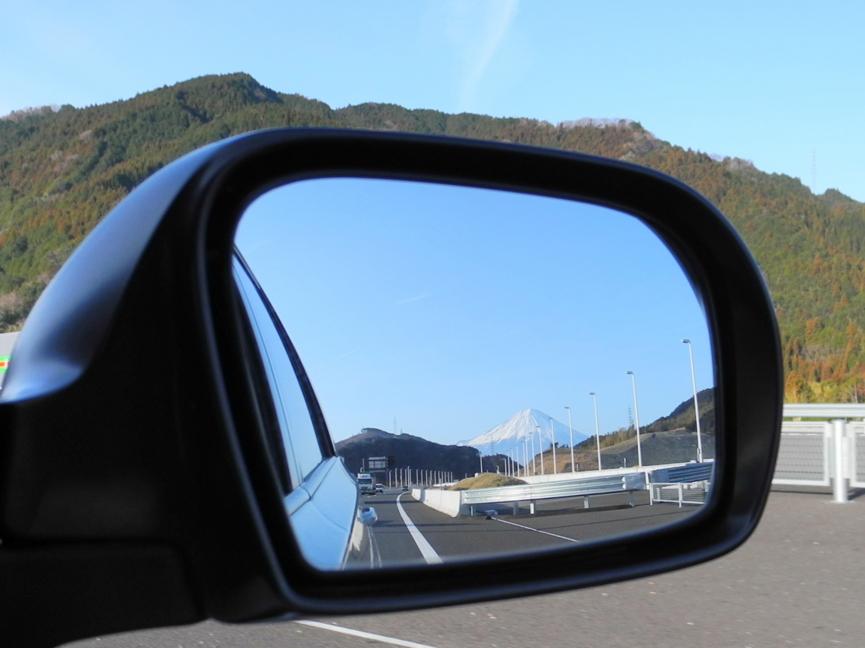 今日の富士山 ある意味逆さ富士...