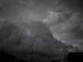雷ゴロゴロな空
