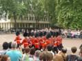 衛兵交代式の様子(ロンドン)11