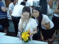 現地学生との交流(タイ研修)11