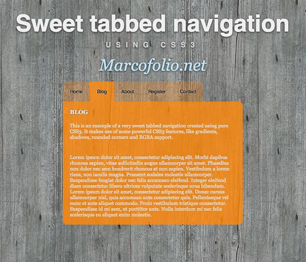 http://demo.marcofolio.net/css3_tabbed_nav/