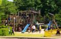 辰口丘陵公園 大型木製遊具