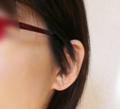 ツーブロックとメガネ