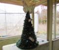 石川県ふれあい昆虫館 クリスマスツリー