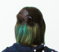 インナーカラー 緑