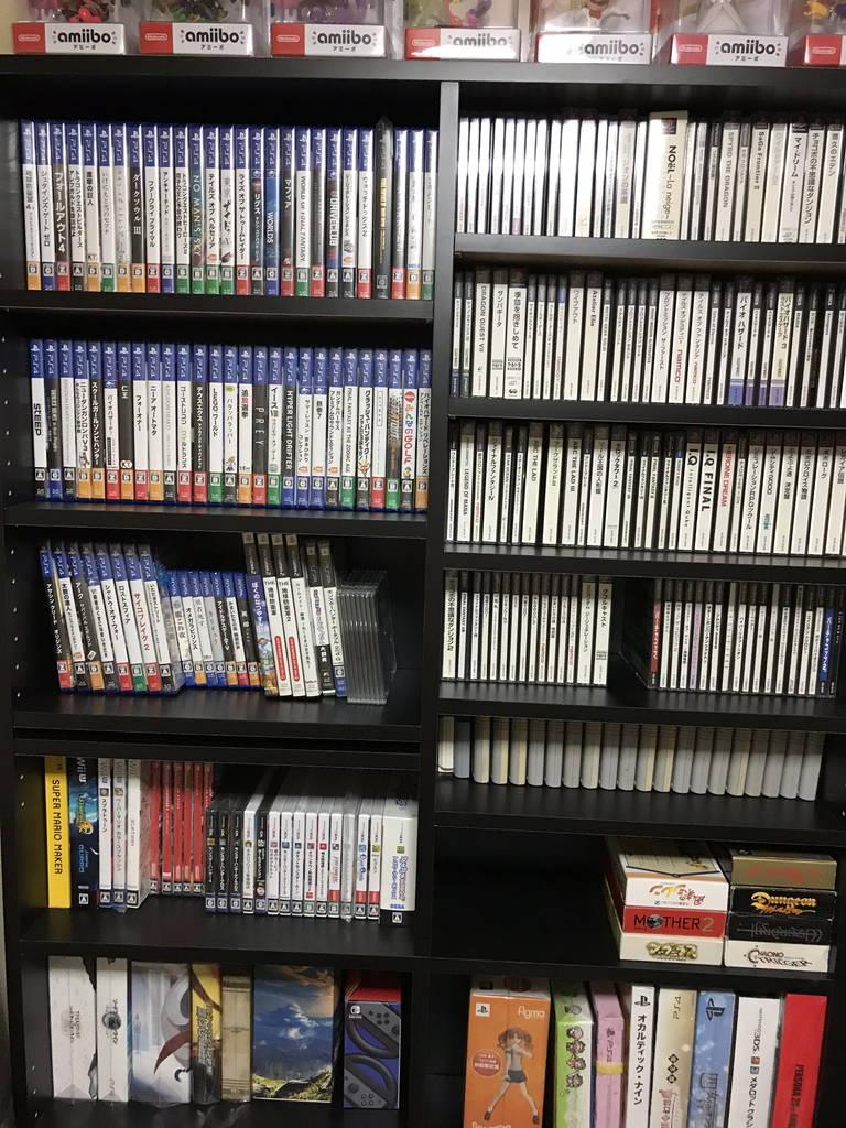 収納した本棚