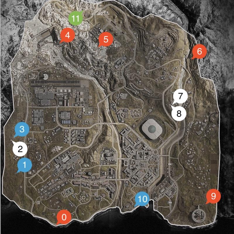 バンカーマップ