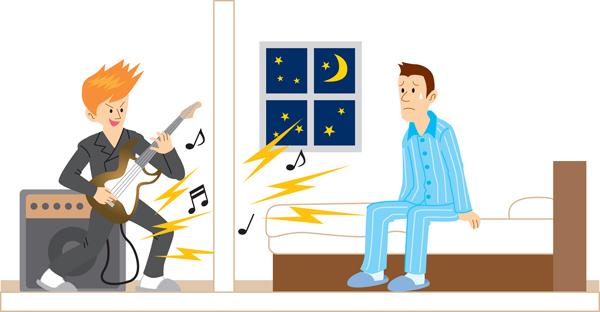 アパートの騒音