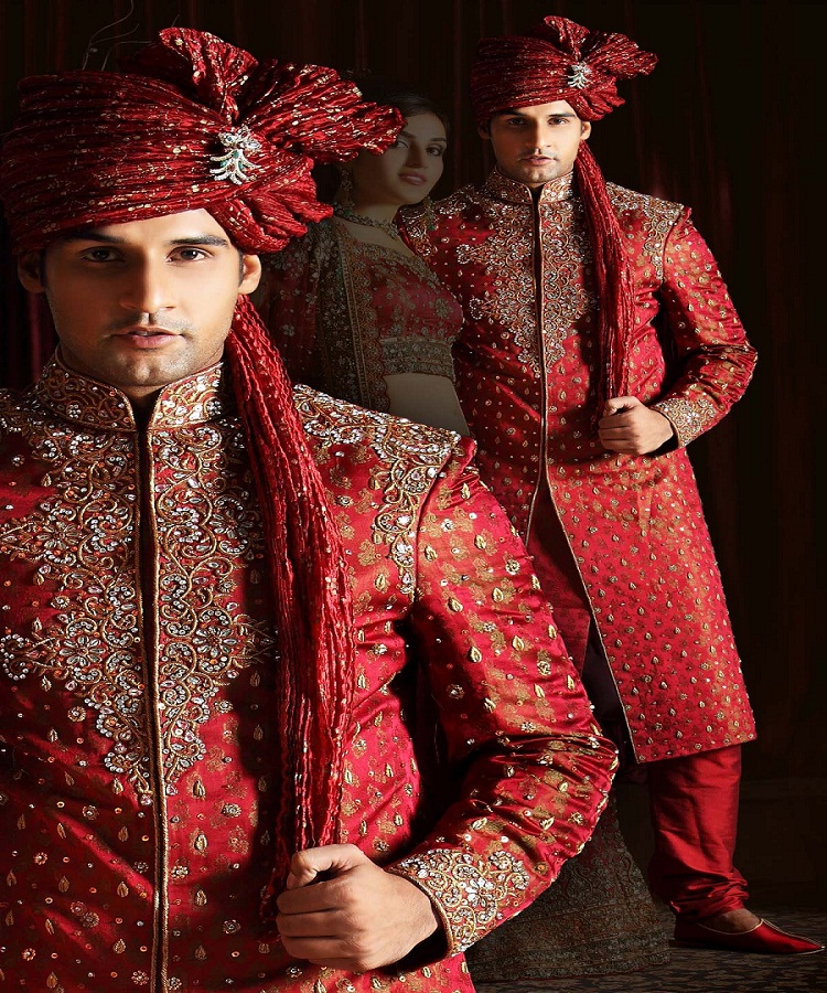 Mens Ethnic Wear – The Latest Fashion Trend in wedding is Sherwani f864a5819de