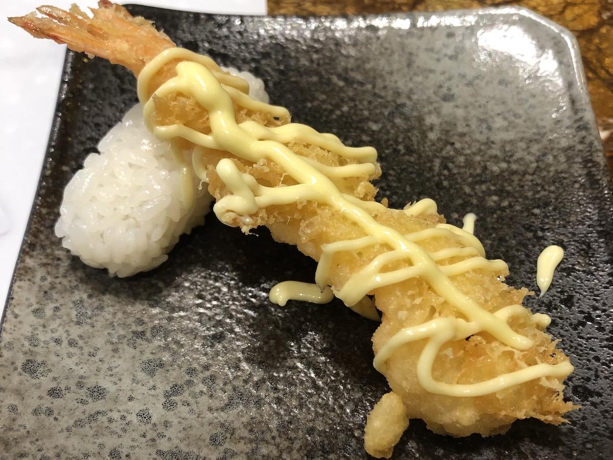 天ぷらの寿司