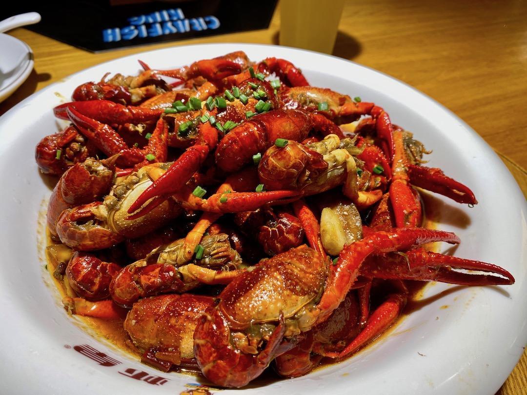 ザリガニ 中国 料理