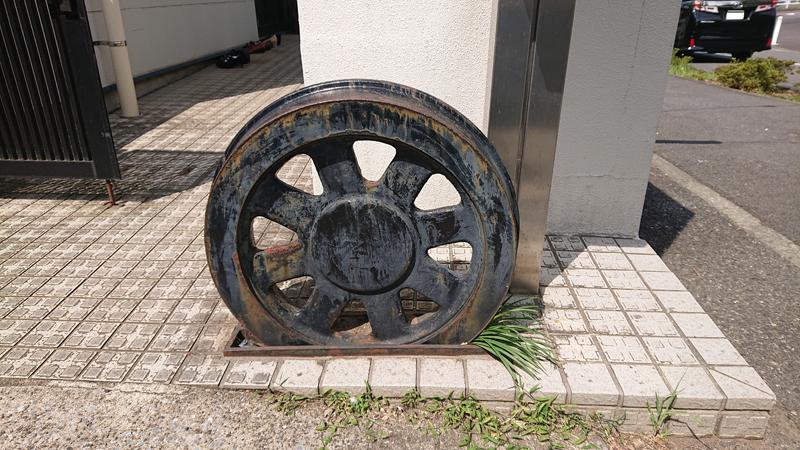 市電の車輪