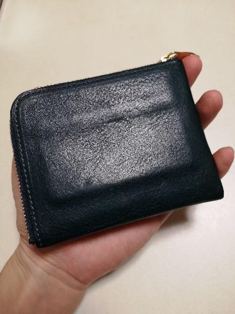 AyameAnticoのL字ファスナー財布