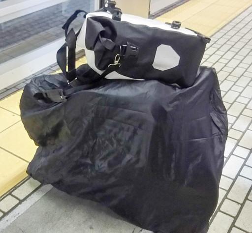 輪行バッグ+サイドバッグ