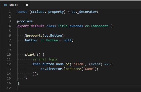 cocos creatorのコード