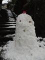 雪だるま 2016寒波