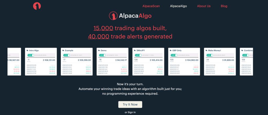http://www.alpaca.ai/alpacaalgo/