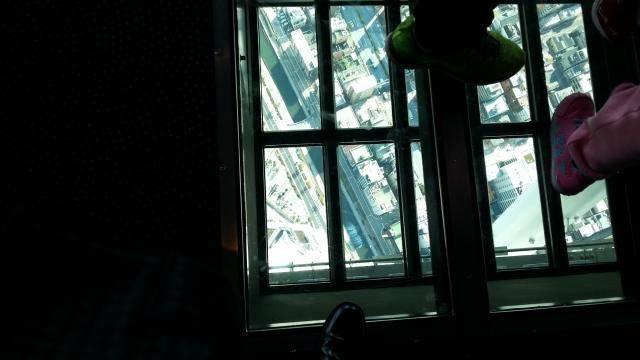 スカイツリー ガラスの床