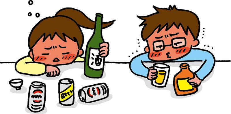 長女と酒飲み