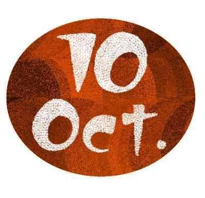 カレンダー 10月