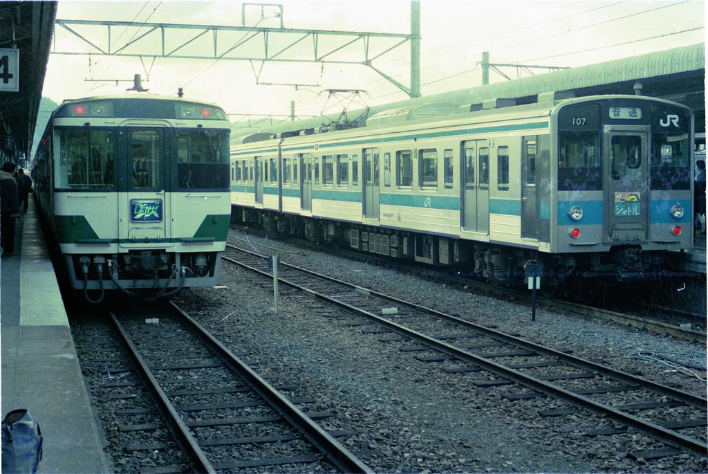国鉄最後の電化となった四国地域