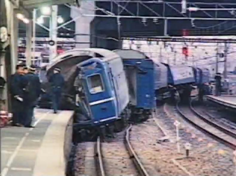西明石駅列車脱線事故