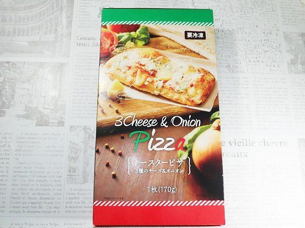 トースターピザ 3種のチーズ&オニオン
