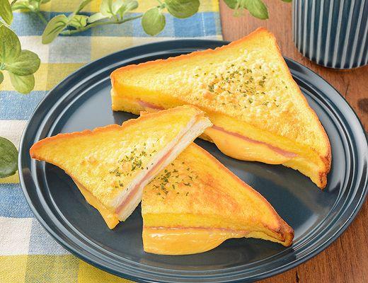厳選おすすめ4位フレンチトースト ハムチーズ