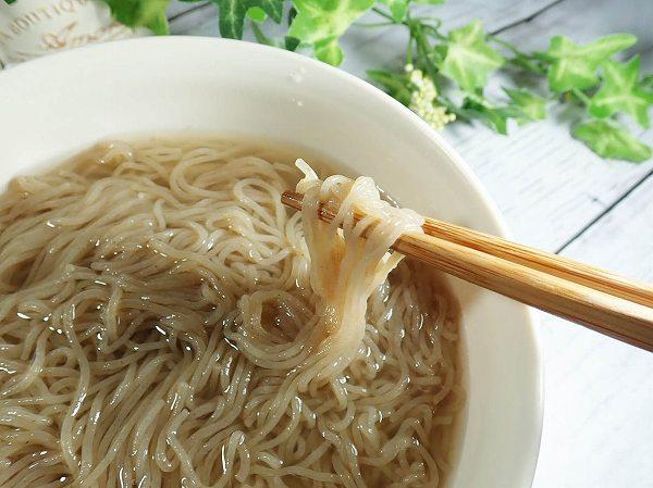 ノンフライの細麺