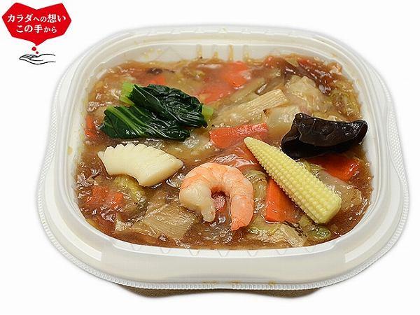 第6位 1/2日分の野菜! 9種具材の海鮮中華丼