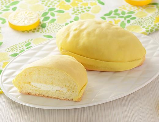 しっとりレモンパン