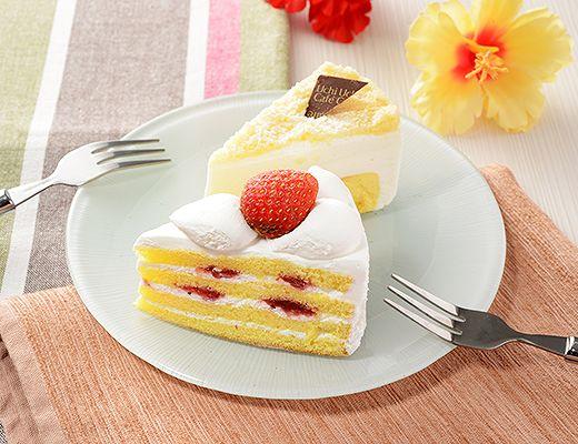 苺ショート&ダブルチーズケーキ